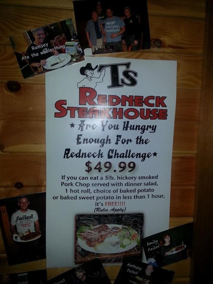 9.2. T's Redneck Steakhouse