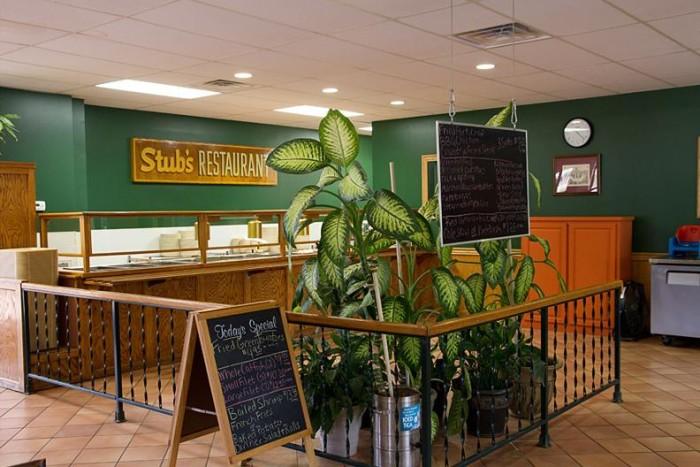 9. Stub's Restaurant, Yazoo City