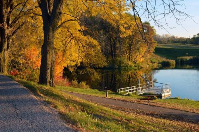 9. Sue Hobbs-Bremmer took this beautiful photo at Bacon Creek Park in Sioux City.