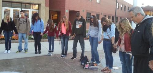 9. The Fellowship of Christian Athletes (FCA) met weekly and (gasp) prayed in public.