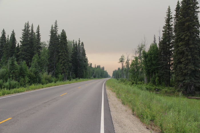 4) Chena Hot Springs Road at Birch Hill in Fairbanks