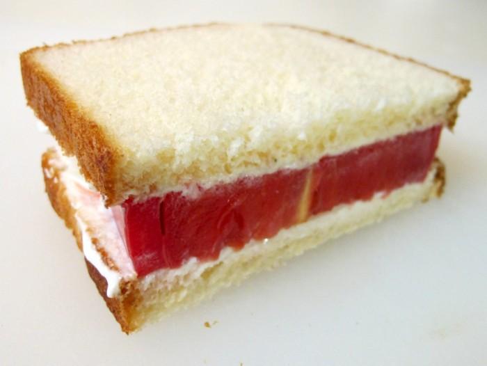 2. Tomato sandwiches