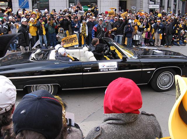 1. The Pittsburgh vs Philadelphia sports rivalry becomes too heated.