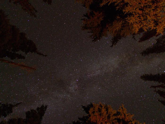 10) Falling upwards into the stars.