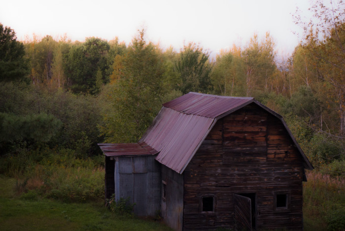 10. This hauntingly gorgeous Duluth barn could definitely make you nervous.