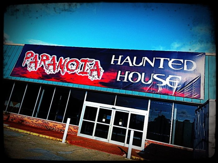 2. Paranoia Haunted House- 2075 Marietta Hwy, Canton, GA 30114