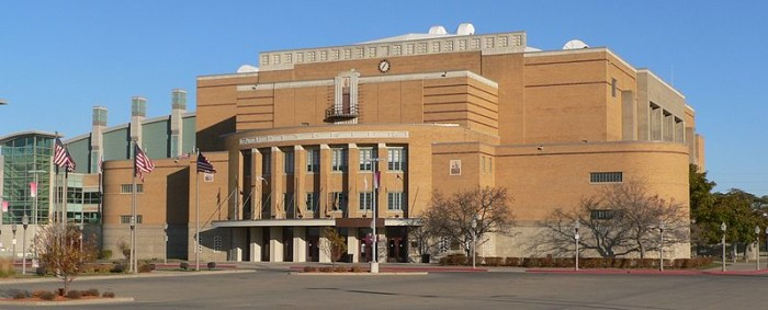9. The ghost of the Sioux City Auditorium