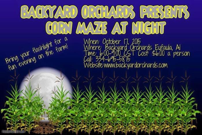 6. Backyard Orchards Corn Maze