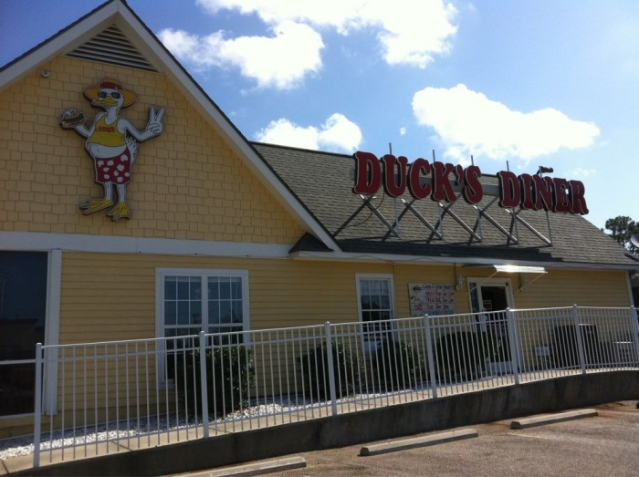 3. Duck's Diner - Orange Beach, AL