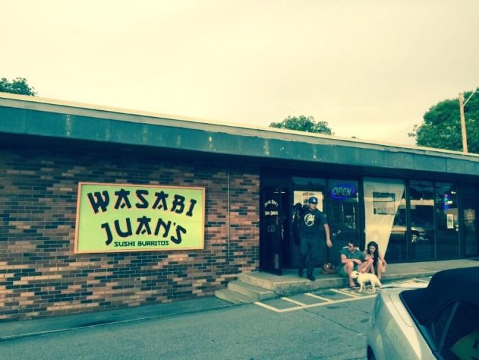 5. Wasabi Juan's - Birmingham, AL