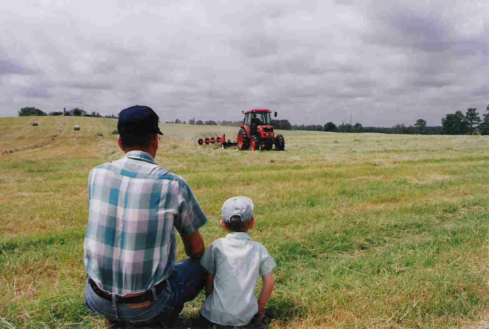 10. How can anyone not appreciate farms after seeing this photo?