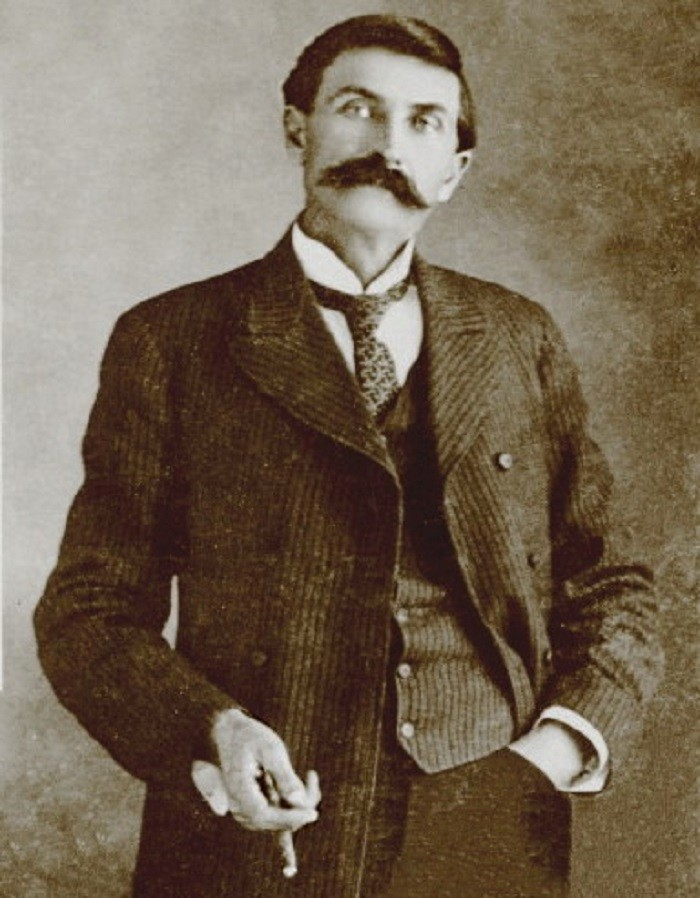 """2. Sheriff Pat Garrett, the man famous for killing """"Billy the Kid"""" in 1881, was born in Cusseta, Alabama."""