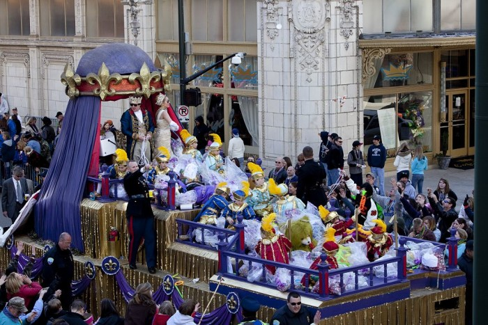 3. In 1703, the United State's first Mardi Gras celebration took place in Mobile, Alabama.