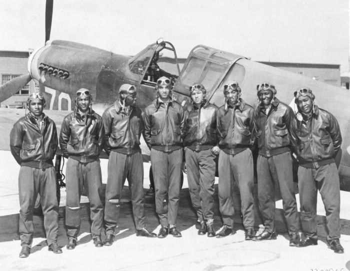 8. The Tuskegee Airmen were trained in Alabama, and they were America's first African-American military airmen.