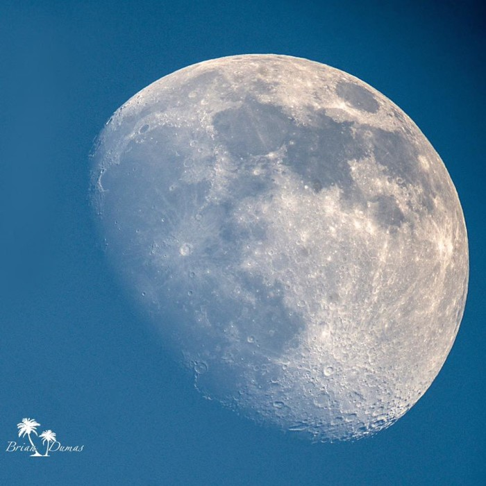 16. A perfect Alabama moon shot!