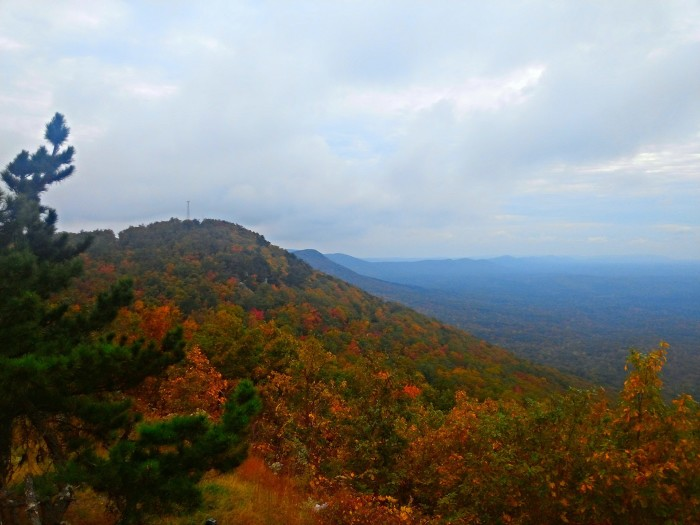 5. A gorgeous view from Cheaha Mountain.