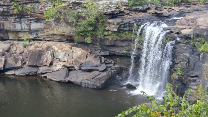 3. An amazing capture of Little River Falls at Little River Canyon National Preserve near Fort Payne, Alabama.
