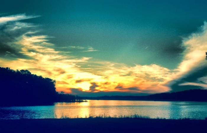 17. An alluring photo of Little Bear Creek, near Belgreen, Alabama.