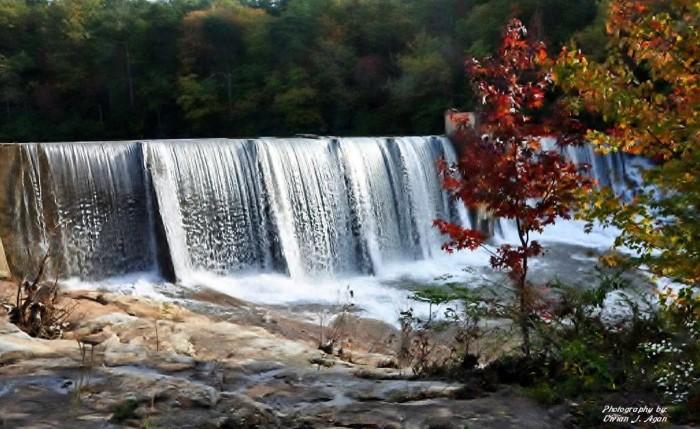 20. This photo of DeSoto Falls is GORGEOUS!!!