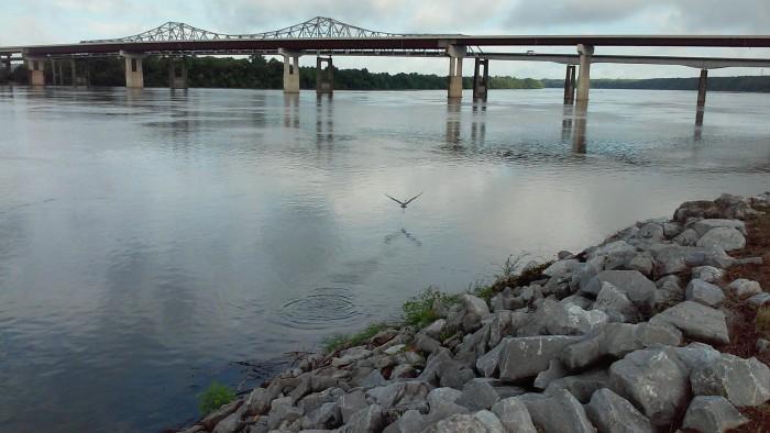 6. Ditto Landing in Huntsville, Alabama.