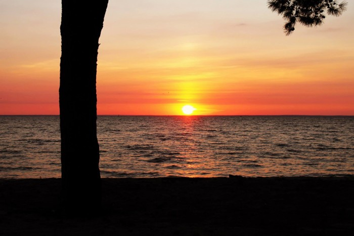 8. This lovely sunset view was captured from Fairhope Municipal Pier.
