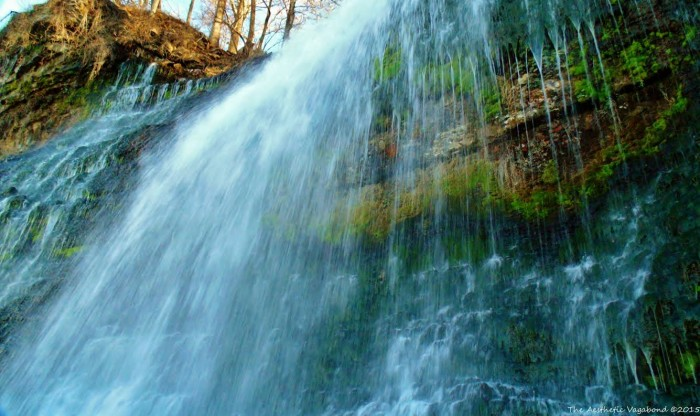 """5. This is a fantastic capture of the waterfall at the """"Rockpile"""" in Muscle Shoals, Alabama."""