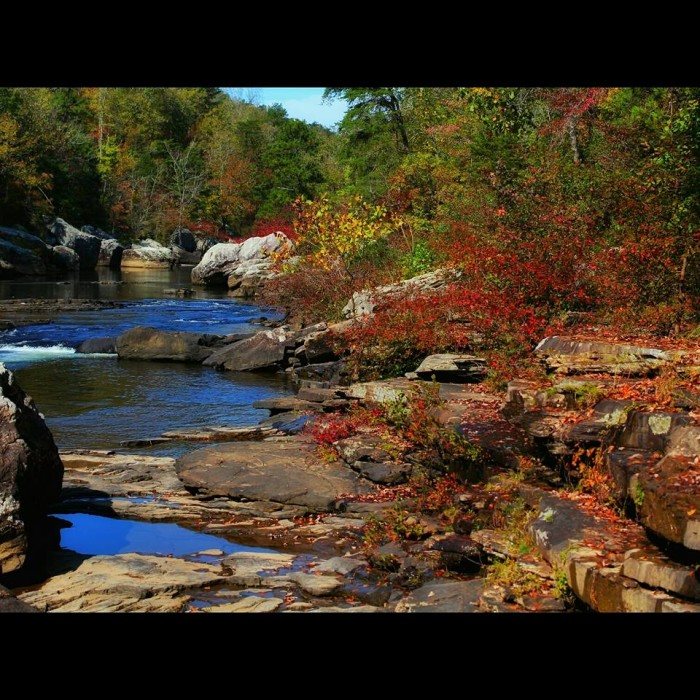 18. Little River Canyon is so lovely during the fall season. Don't you agree?