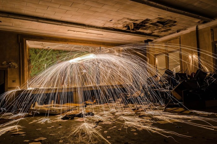 5. This INCREDIBLE photo was captured inside of an abandoned schoolhouse in Shellhorn, Alabama.