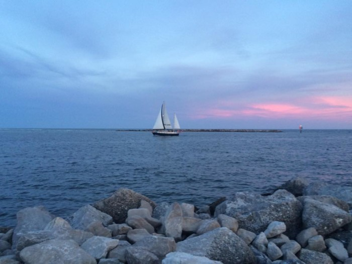 11. This picturesque sailboat photo was captured in Orange Beach, Alabama and it's BEYOND PERFECT!!!