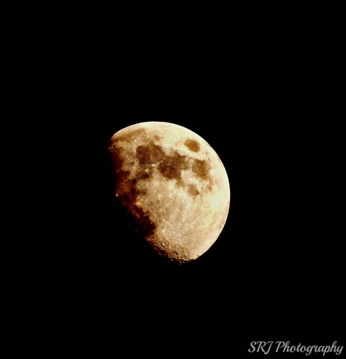 2. An amazing capture of the moon over Pinson, Alabama.