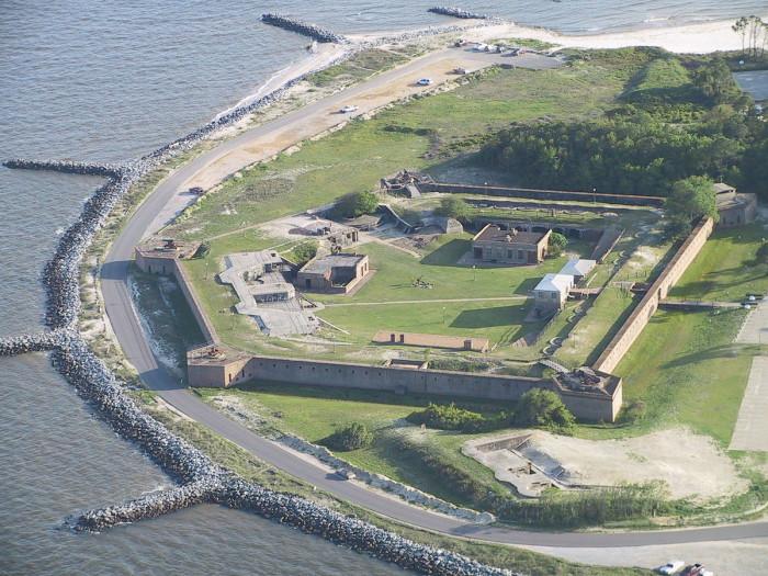4. Fort Gaines - Dauphin Island