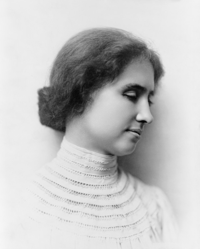 """7. Without Alabama, the world wouldn't know Helen Keller - the """"First Lady of Courage."""""""