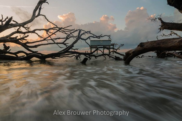 """19. """"Sunrise"""" at Hunting Island State Park taken by Alex Brouwer. This has to be one of my favorite places to see in photographs and in real life."""