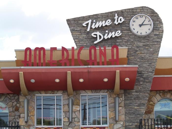 5. Americana Diner, East Windsor