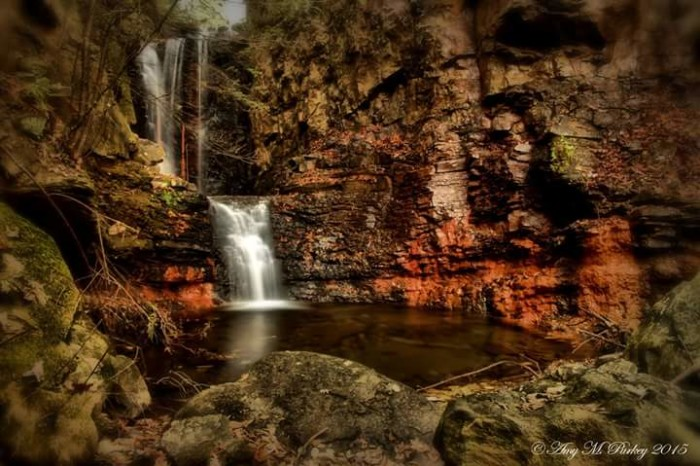 15) Triple Falls has never looked as good as the way Amy Purkey sees it.
