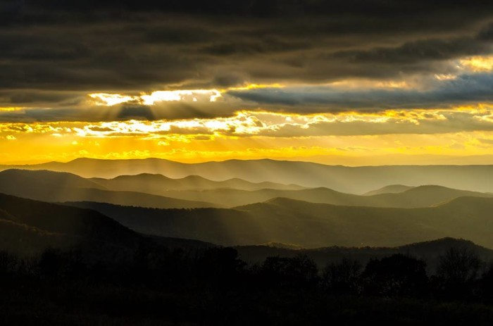 5. William Spinrad, Jr. shows just how breathtaking the Appalachian Mountains can be. Well done!