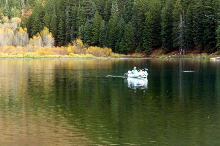 7. It looks like Arnold Thayer had some fun at Tibble Fork Reservoir!