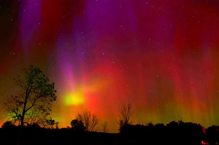 12) Aurora Borealis Up North