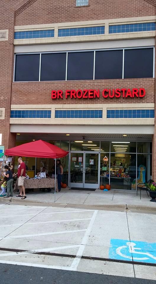 "10. BR Frozen Custard and Sweets ""Outrageous Split Challenge""  - Woodbridge"