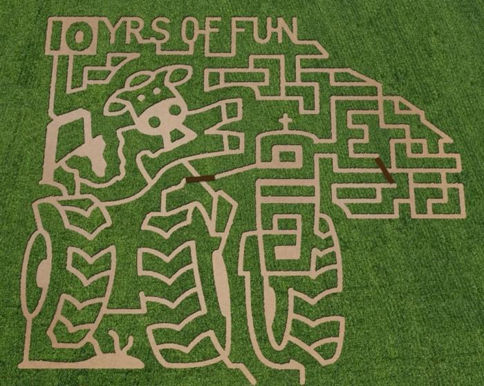 Back Home on the Farm 2014 Maze