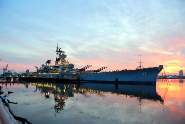 10. Battleship New Jersey, Camden
