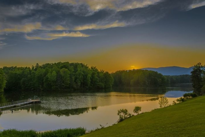 8. Beaver Creek in Crozet takes on a storybook perfection in this photo by Early McDaniel.