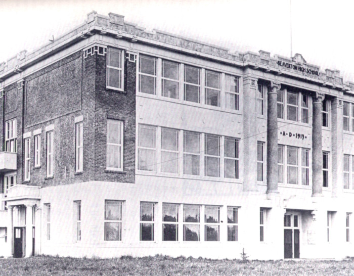 Beaverton High School. Wow! It looks so different now.