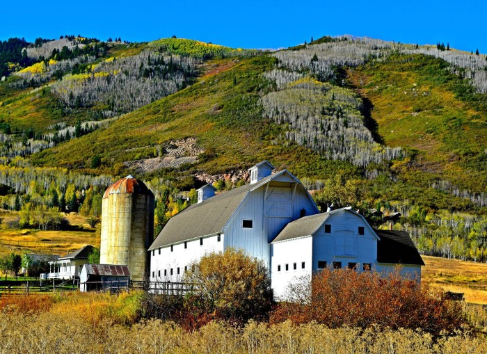 11. Bente Nielsen Love shared this pic of Park City.