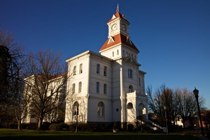 3) Benton County