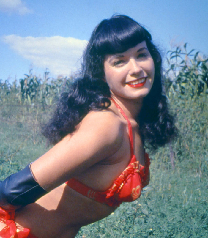 10) Bettie Page