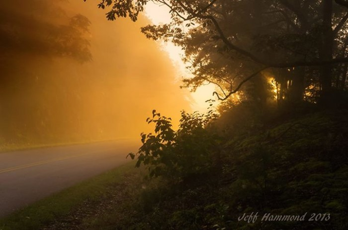 4. Just north of Roanoke, Black Horse Gap makes a picture-perfect setting as shown by the talent of Jeff Hammond of Landscapes of the Blue Ridge.