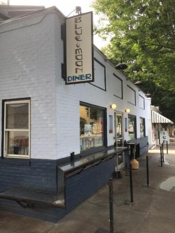 6. Blue Moon Diner, Charlottesville