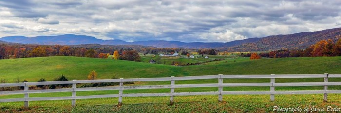 7. The colors, the setting, the mountains. Everything I love most about Virginia is represented in this breathtaking scene sent in by James Beeeler from Photography by James Beeler.