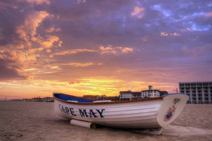 5. Sunset in Cape May, taken by Joshua Siniscal.